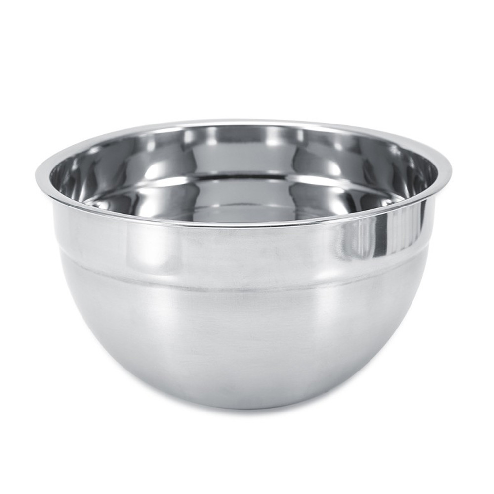 4 Size Mixing Bowl Made of Premium Stainless Steel Material For Serving Fruit Salads