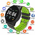 Neue Sport Smart Uhr Männer Frauen Blut Druck Wasserdicht Aktivität Fitness tracker Heart Rate Monitor Smartwatch GPS Android ios