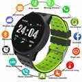Nieuwe Sport Smart Horloge Mannen Vrouwen Bloeddruk Waterdicht Activiteit Fitness tracker Hartslagmeter Smartwatch GPS Android ios
