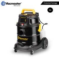 Vacmaster balde aspirador de pó 18kpa poderosa sucção 4 em 1 aspirador casa molhado seco aspirador baixo ruído 20l