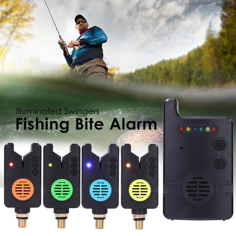 Conjunto sem fio Carp Fishing Mordida Alarme