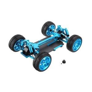 Zmontowana rama podwozia dla 1/18 WLtoys A959 A969 A979 A959-B RC Off samochód zabawka metalowy samochód wymiana części zamienne