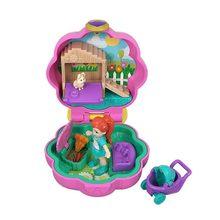 Mattel original polly pocket mundo mini tesouro casa boneca menina princesa acessórios caixa de bonecas musicais crianças brinquedos juguetes