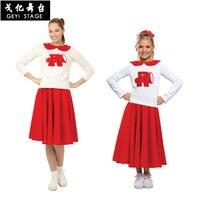 Halloween Hot Cheerleading Uniforms Students Games Cheerleaders Clothing Women Girls School Uniforms Adults Cheerleader Dancing