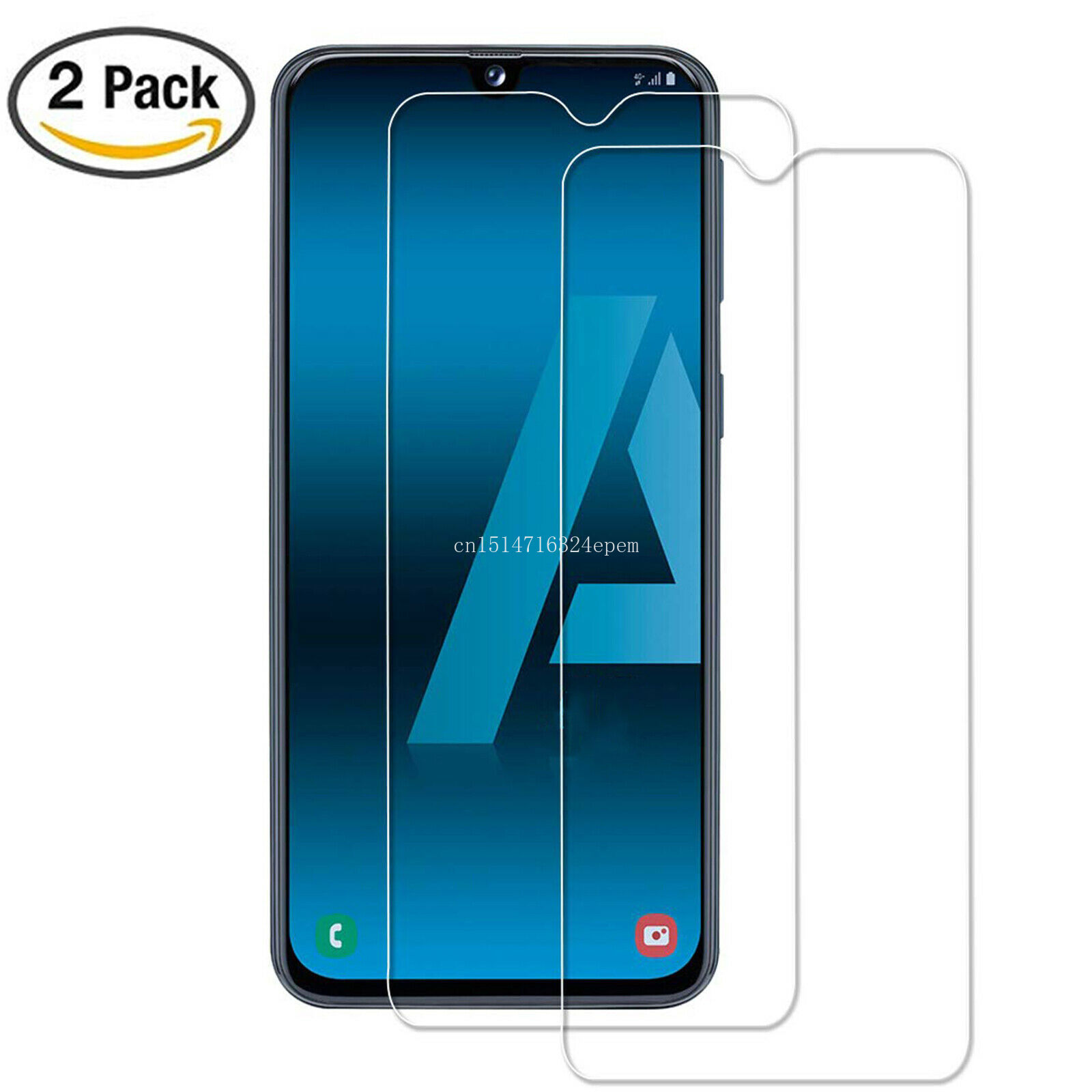 2Pcs Tempered Glass For Samsung Galaxy A30 A50 Screen Protector 9H Safety Protective Film On  A70 A40 A60 A90 M10 M20 M30 A10
