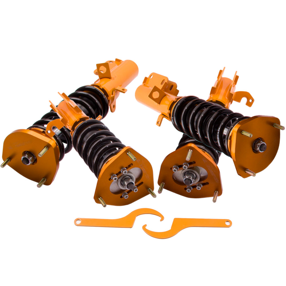 CoilOver Shock Absorber for <font><b>Toyota</b></font> <font><b>Corolla</b></font> E90 E100 E110 AE92 <font><b>AE101</b></font> AE111 for Levin AE90 AE92 AE100 101 AE111 88-99 Coilovers image
