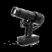 A bateria recarregável 35w conduziu a luz feita sob encomenda do projetor do logotipo da imagem com função estática zoom manual & foco personalizado para o uso interno