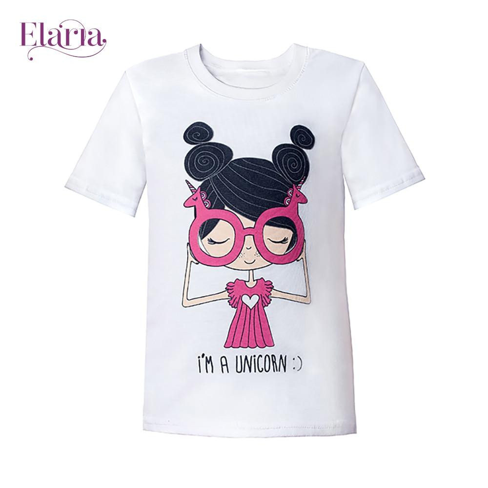 цена на T-Shirts Elaria Tsg-03-1 children's clothing t-shirt for boys for girls clothes