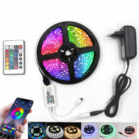 led strip 12v waterproof smd 2835 RGB tape IR WIFI control ribbon neon Party decoration strips light for living room Bar lights