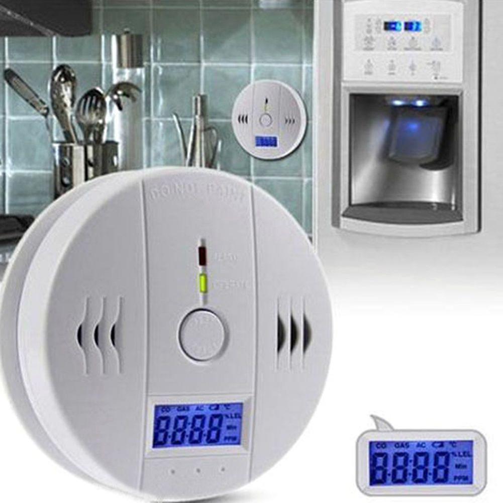 1Pc LCD CO Carbon Monoxide Detector Poisoning Gas Warning Alarm Sensor Monitor