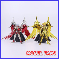 MODEL FANS gt Saint Seiya EX Ares Saga Evil God of War Gemini Saga Saintia Shoko PVC Action Figure Metal Armor Model Toys