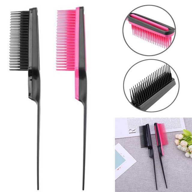 1pc Pointed Tail Comb Prevent Hair Loss Hair Brush Salon tool Styling Comb Multiple Comb Teeth Comb
