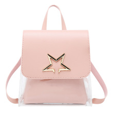 Bag female 2020 new fashion transparent small Korean version of the shoulder messenger handbag
