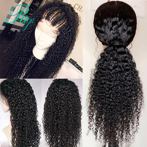 Image 2 - Fake Scalp 150% 13x6 Short Curly Lace Front Human Hair Wigs Pre Plucked With Baby Hair Brazilian Remy Bob Wigs For Black Women
