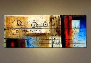 Large Contemporary Wall Art Modern Abstract Big Canvas Oil Painting Decorative Painting For Living Room Bedroom Home Decoration