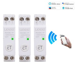 1P Wifi Din Rail Circuit Breaker Switch Relay Smart Timer Remote Control By EWeLink APP Smart Home Compatiable With Alexa Google