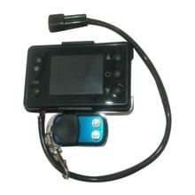 12 V/24 V 3/5KW Monitor LCD calentador de estacionamiento interruptor Digital del dispositivo de calefacción del coche Controlador Universal para el calentador de aire de la pista del coche
