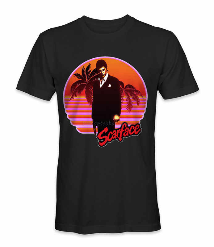 Camiseta Scarface estilo de camiseta personalizada, nuevo diseño de moda para hombres y mujeres