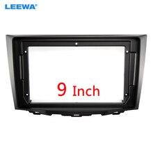 LEEWA – adaptateur de cadre Fascia pour Suzuki Kizashi, Kit de montage Audio de tableau de bord, grand écran 9 pouces, 2din, # CA6646