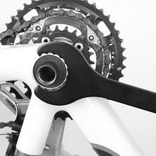 Mountain Bike Integrated Bottom Spanner Wrench Repair Maintenance Maintenance Disassembly Tool Bicycle Repair Tool mtb road bike bicycle sprocket nut chain wrench crankcase disassembly spanner chainwheel dismounting tool