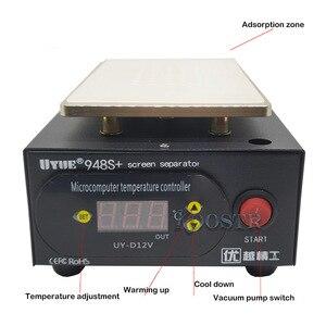 Image 2 - ขายร้อนUYUE 948S + LCDเครื่องแยกซ่อมเครื่องBuild Inปั๊มสูญญากาศสำหรับIPhoneสำหรับSamsung + ของขวัญ
