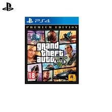 Игра для Sony PlayStation 4 Grand Theft Auto V. Premium Edition(русские субтитры