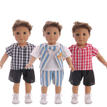2021 Popular Men's Shorts Tops New Born Baby Doll Clothes for 18
