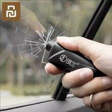 Nowy młotek bezpieczeństwa Xiaomi Auto szkło samochód okno Breaker ratujące życie Escape Rescue Tool Seat belt Cutter breloczek młotek