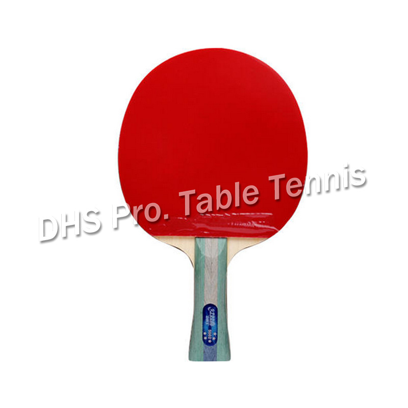 DHS 5002 Long Shakehand FL Table Tennis Ping Pong Racket + A Paddle Bag FL