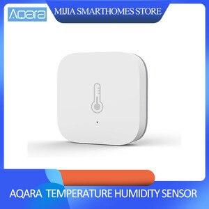 Image 1 - Original Xiaomi AQara Smart Temperature Humidity Sensor , ZigBee Wifi Wireless Work With xiaomi smart home mijia Mi home App