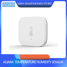 Оригинальный умный датчик влажности Xiaomi AQara, ZigBee Wifi беспроводная работа с приложением xiaomi Smart home mijia Mi home