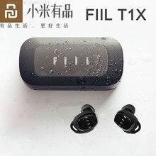 Fiil T1X真のワイヤレスbluetoothイヤホンbluetooth 5.0スポーツランニング耳栓タッチ制御ノイズリダクションxiaomi電話