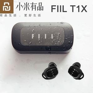 Image 1 - Електронный T1X True Wireless Bluetooth наушники Bluetooth 5,0 Спорт бег наушники затычки сенсорное управление снижение уровня шума для телефонов Xiaomi