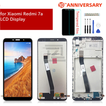 Per Xiaomi Redmi 7A Display LCD Touch Screen Digitizer Assembly con Telaio per redmi 7a display di ricambio di Riparazione di Parti di Ricambio