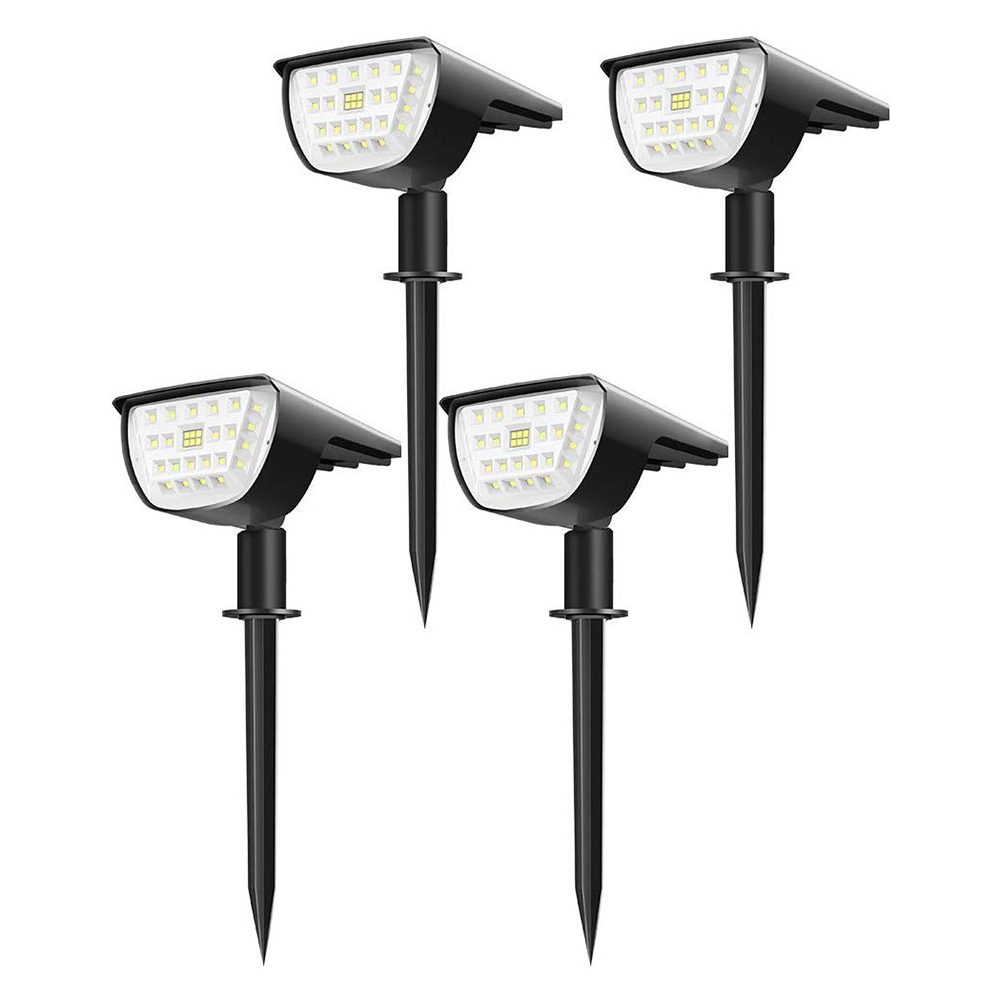 32 LED Solar Lights Outdoor Garden Wall Lights IP65 Waterproof Landscape Lawn Spike Lamps 2020 New