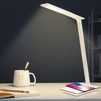 Kids Reading Light LED Table Desk Lamp 2 In 1 Multi Function Creative Wireless Charging Eye Protection For Mobile Phone charge|Desk Lamps|   -