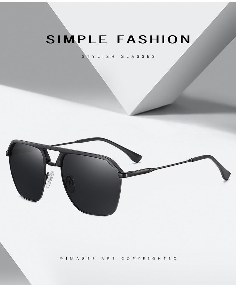 Classic Pilot Polarized Sunglasses Men Coating Mirror Sport Retro Sun Glasses Men Ride Travel Driving Fishing Eyewear Male UV400 (2)