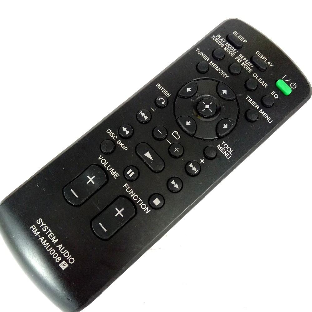 NEW Original RM-AMU008 for SONY Component System Remote control For HCD-ZT4 LBT-ZT4 SS-ZT4 Fernbedienung