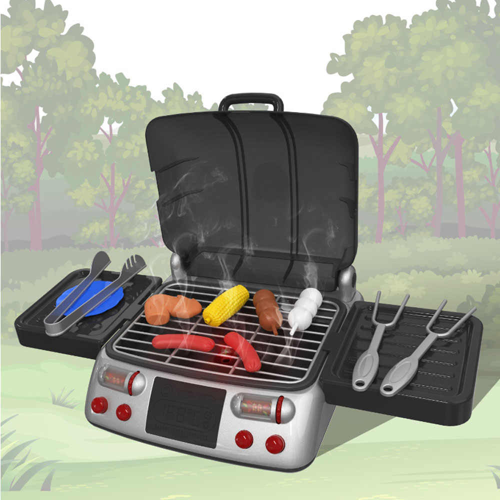Toys Simulation Electric Bbq Grill