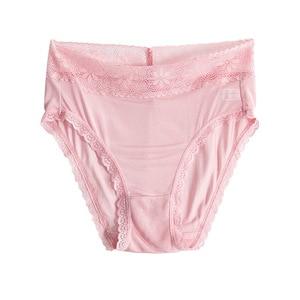 Image 5 - 4 แพ็คสตรี 100% ผ้าไหมผ้าไหมบางชุดชั้นในชุดชั้นในชุดชั้นใน M L XL TG008