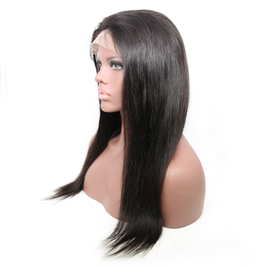 Image 4 - 6x6 Lace Closure Wig Brazilian Virgin Hair Straight Lace Front Human Hair Wigs For Black Women Pre Plucked Wigs DJSbeauty
