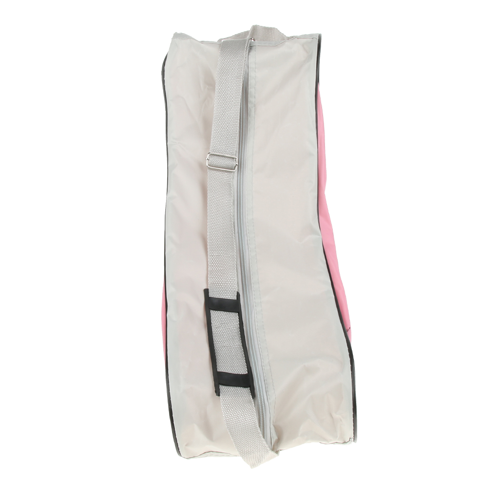 2pcs Inline Ice Skate Bag With Adjustable Shoulder Strap, Skating Boots Storage Carrier For Outdoor Sports Tool