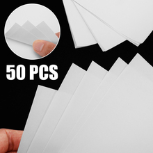50pcs A4 Size Light Color Heat Transfer Paper Convenient Use Water Slide Inkjet Decal White Paper DIY Clothes Pattern Tool