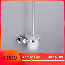 GAPPO Zinc Alloy bathroom Toilet Brush Holders Brass Glass cups Holders Wall Bathroom Hardware Accessories Wall Mounted