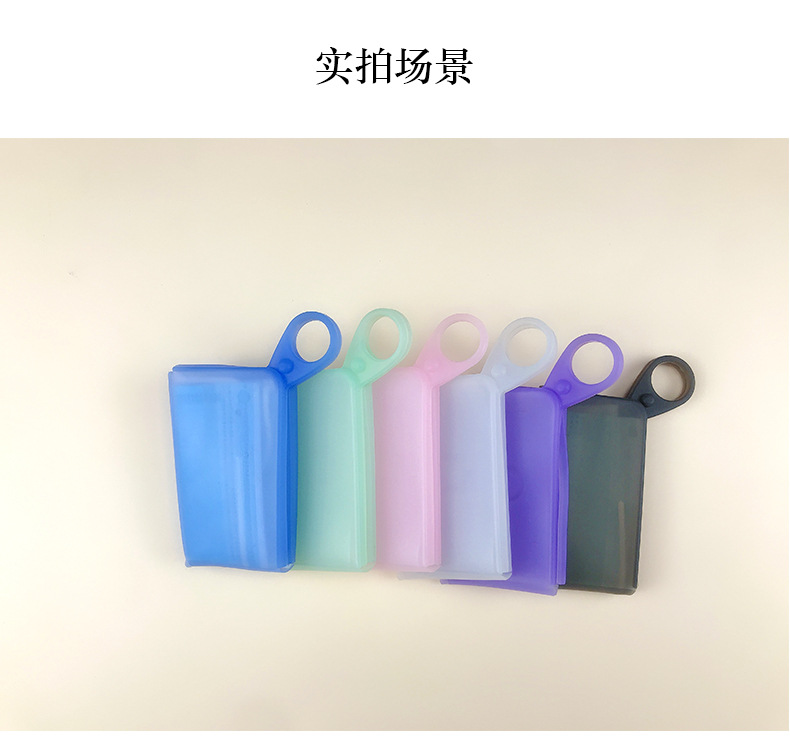 Mask Storage Clip Portable Silicone Case Holder Organizer for Storing Disposable Cotton Face Mask(China)