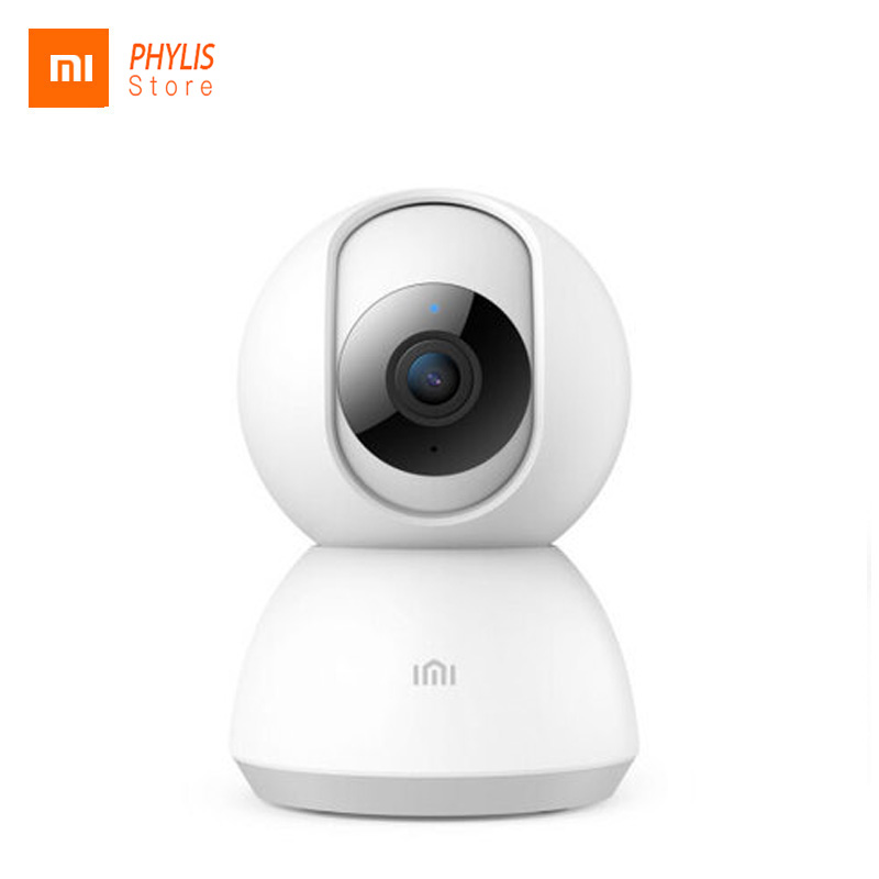 Original xiaomi mijia câmera inteligente câmeras de visão noturna 1080 p 360 graus wi fi câmera ip casa panorâmica kamera appareil foto