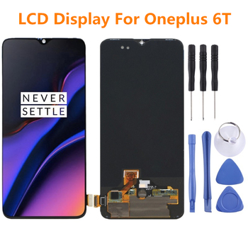 For OnePlus 6T LCD Display Touch Screen Digitizer Assembly Replacement For OnePlus 6 T LCD display