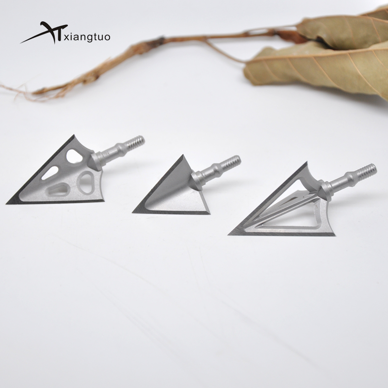 6pcs Archery Fixed 100Grain Broadheads Sharp Arrow Head Stainless Alloy Fix Blade G5 X3 X5 Arrowhead Point Tips Hunting image