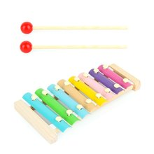 Childrens Educational Toys Wooden Knock On The Piano Toy Beat Xylophone Music Instrument