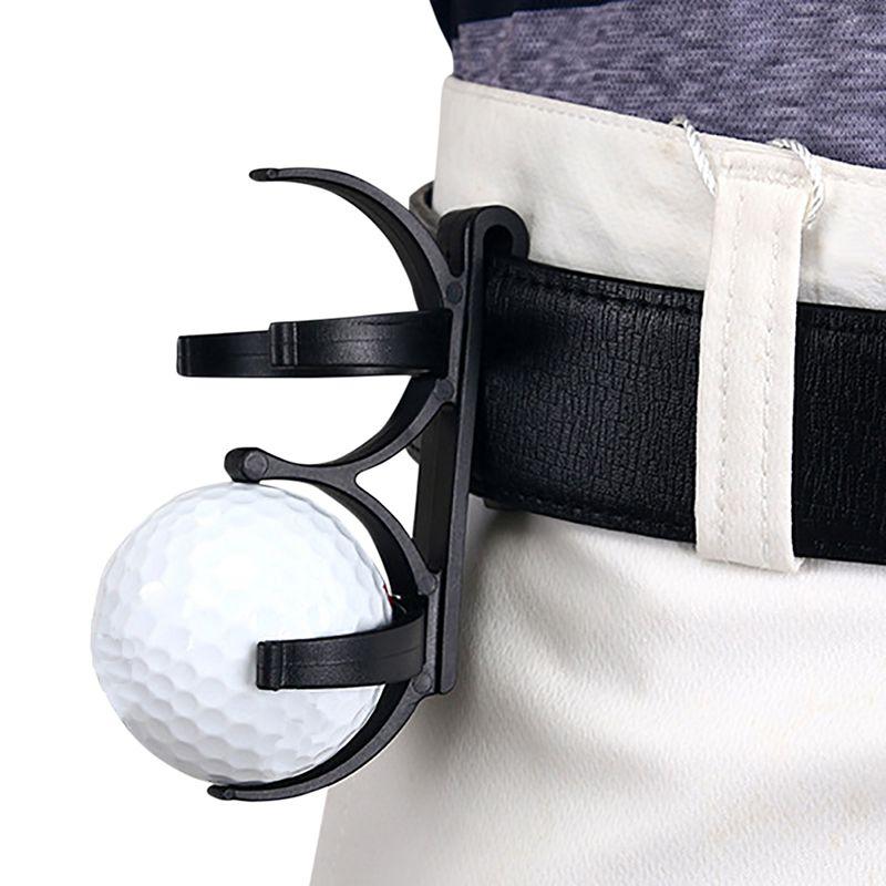 Golf Ball Holder Golf Clip Organizer Sporting Sports Plastic Rotatable Training Tool Accessory For 2 Balls